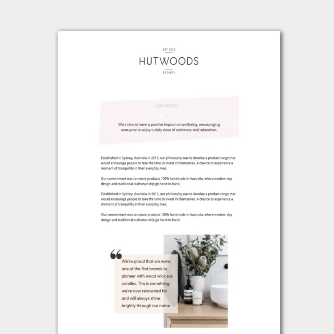 Hutwoods | Email Marketing Automations