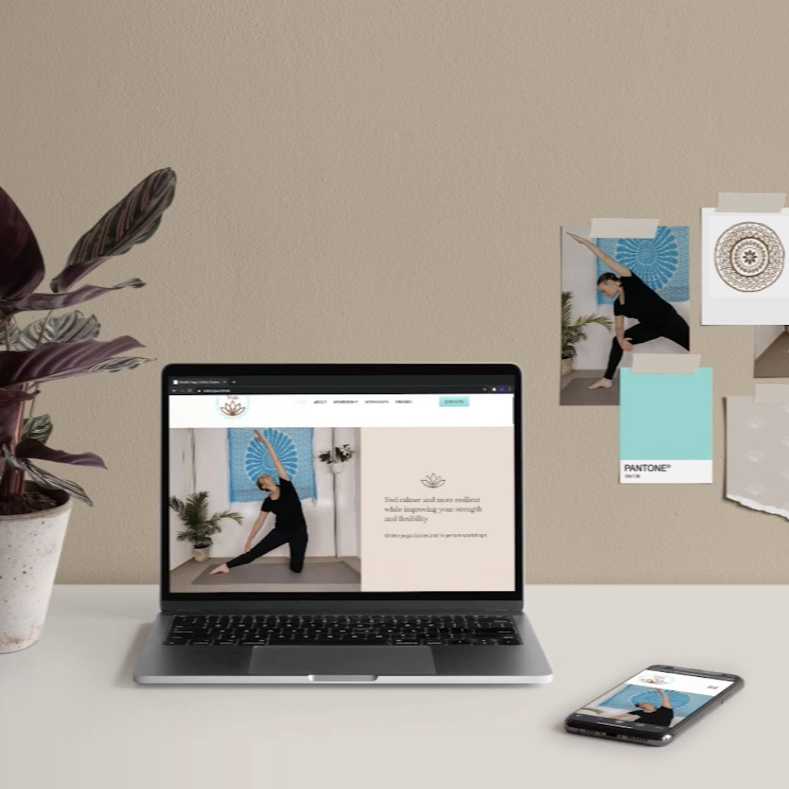 Vida Yoga | Custom WordPress Website